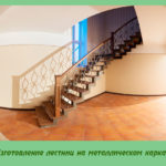 Изготовление лестниц на металлическом каркасе