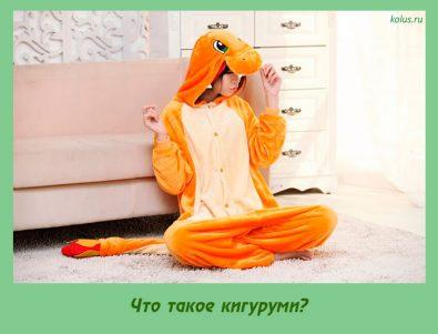 Что такое кигуруми?