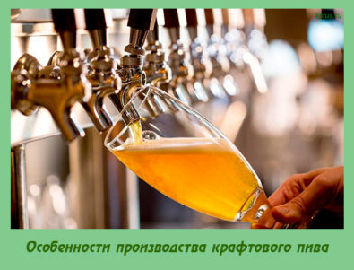 Особенности производства крафтового пива